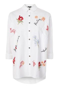 Floating Flower Neppy Shirt