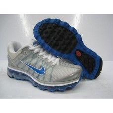 uk availability c0e57 54d4e Femme Nike Air Max 2009 Netty Gris Bleu