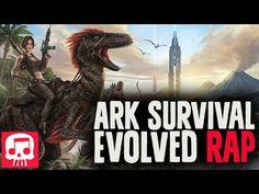 "ARK SURVIVAL EVOLVED RAP By JT Machinima feat. Dan Bull - ""Apex Predator"" - YouTube"