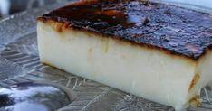 Creamy cake in a pan: beautiful and so yummy Greek Sweets, Greek Desserts, Greek Recipes, Jam Tarts, Custard Cake, Greek Cooking, Happy Foods, Mediterranean Recipes, Food To Make
