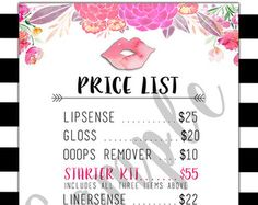 LipSense How To Apply Graphic by BessKnowsBest on Etsy