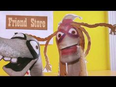 "Sockamay - ""Friend Store"" 1    Sock puppets Cassie and Bernie take us on wild business schemes that are completely cockamamy. Cassie and Bernie come up with their own version of Facespacebook."