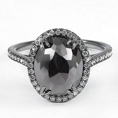 Beautiful black diamond ring.  www.itaymalkin.com