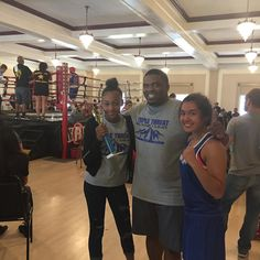 Team Savanna won by decision and Mary lost on a 3-3 split both young ladies had a great performance and represented Triple Threat Boxing proudly