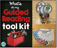 What's In My Guided Reading Tool Kit?  A blog post to share what your students need in their tool kit and a couple of crucial teacher tools too.