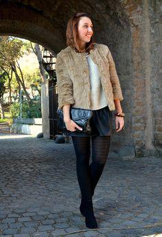 Faux Fur   , Zara en Abrigos, H en Jerseys, Zara en Faldas, Zara en Botines