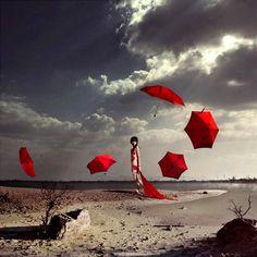 parapluie, quand l'inspiration me vient...le vent se lève ?