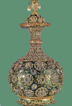 Item from the Iranian crown jewels. More information would be appreciated.