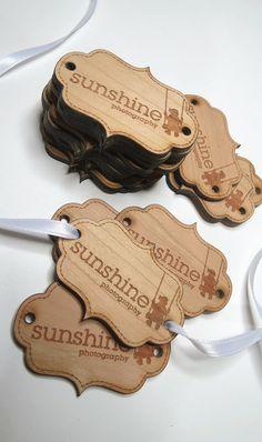 Custom Wood Tags by GrainDEEP; #woodtags #customwoodtags #gifttags #weddingtags