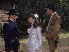 Calamity Jane: Philip Carey, Allyn Ann McLerie, and Howard Keel