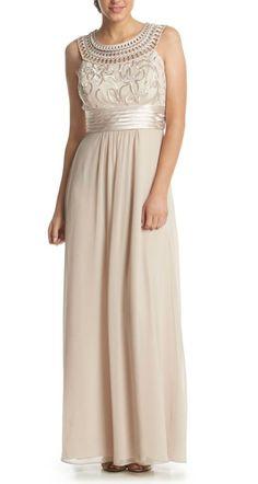 Soft, elegant + feminine   Jessica Howard® Soutache Bodice Dress