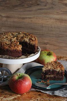 Schoko – Apfel – Haselnuss ! Ehne, Mehne, Miste …. wer darf denn in meinen Kuchen? Und weil ich Schokolade, Äpfel und Haselnüsse so lecker finde, schmeiß ich alle 3 zusamme…