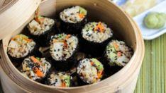 Tilda Quinoa and Brown Rice Sushi With Miso Tahini Tofu