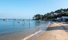 Balade le long de la plage de la Pointe aux Chevaux au Cap Ferret