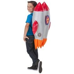 Inflatable Jet Pack with Lights Costumes - Kids