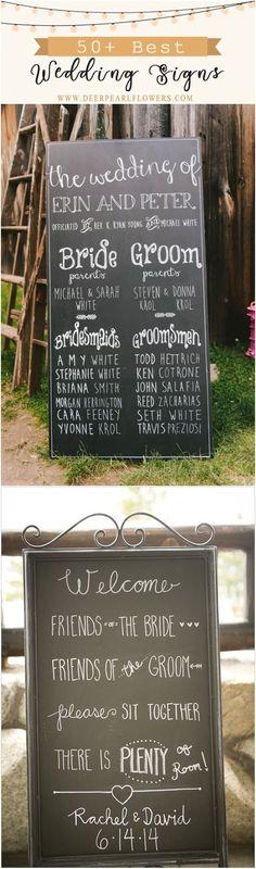 50 Awesome Wedding Signs You\'ll Love #weddings #weddingreception #weddingideas #weddinginspiration #rusticweddings #dpf #deerpearlflowers #weddingsigns