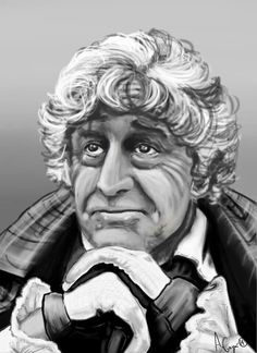 The Third Doctor, by Audrée Gagné-Morin