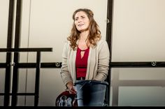 """Pia Douwes singing """"Mir fehln die Berge""""(I miss the mountains) as """"Diana Goodman"""" in the German premiere of """"next to normal"""" by Tom Kitt & Brian Yorkey (German version by Titus Hoffmann) at the Stadttheater Fürth"""