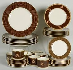 Lenox China Au Courant Cocoa at Replacements, Ltd