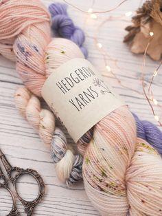 Lupins Hand dyed yarn The post Lupins appeared first on Yarn ideas. Yarn Thread, Yarn Stash, Yarn Needle, Arm Knitting, Knitting Patterns, Knitted Teddy Bear, Kawaii Crochet, Yarn Inspiration, Little Stitch