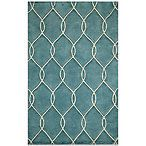 Momeni Bliss 8-Foot x 10-Foot Rug in Teal