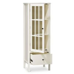 Windham Narrow Library Cabinet with Drawer - Threshold™ : Target