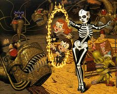 Todd Schorr - Madame Calivera's Corporate Identity
