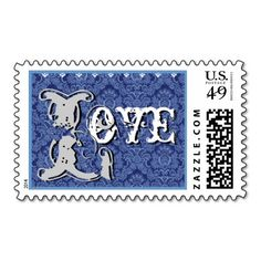 Dark Denim Blue Damask  LOVE Wedding Postage in each seller & make purchase online for cheap. Choose the best price and best promotion as you thing Secure Checkout you can trust Buy bestHow to          Dark Denim Blue Damask  LOVE Wedding Postage Review on the This website by click t...