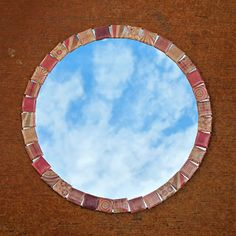 "How to Make a Custom ""Tiled"" Mirror"