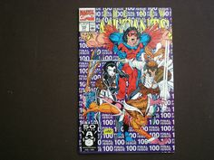 New Mutants 100, (1991), 1st App. X-Force, Marvel Comics, Final Issue M2 by HeroesRealm on Etsy