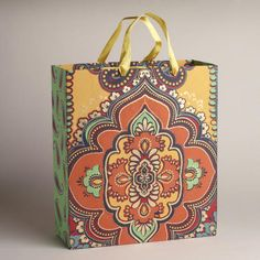 One of my favorite discoveries at WorldMarket.com: Extra Large Giant Spice Diamond Handmade Gift Bag