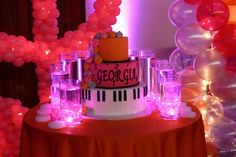 Candle Lighting Displays Bat Mitzvah Candle Lighting Display