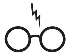 Harry porter clipart on harry potter wizards and Harry Potter Stencils, Harry Potter Clip Art, Harry Potter Fiesta, Harry Potter Symbols, Harry Potter Glasses, Harry Potter Shirts, Theme Harry Potter, Harry Potter Birthday, Glasses Tattoo
