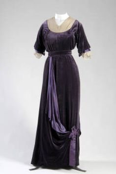 Afternoon dress, 1910