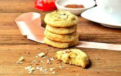Cookies moelleux Rooibos (thé rouge) et Chocolat Blanc