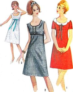 60s mod dress patterns - Google Search