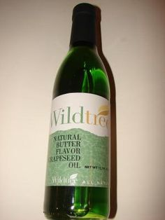 Wildtree- HEALTHY NATURAL BUTTER FLAVOR GRAPESEED OIL $13.99