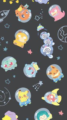 Cute Pokemon Wallpaper, Cute Patterns Wallpaper, Cute Disney Wallpaper, Kawaii Wallpaper, Wallpaper Iphone Cute, Cute Cartoon Wallpapers, Mega Pokemon, Nintendo Pokemon, Pokemon Eevee