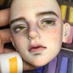 New art drawings realistic eye tutorial ideas Doll Makeup, Eye Tutorial, Doll Repaint, Custom Dolls, Ooak Dolls, Ball Jointed Dolls, Doll Face, Clay Art, Beautiful Dolls