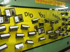 Neat way for parents to get to know a little bit about the teachers their child's school