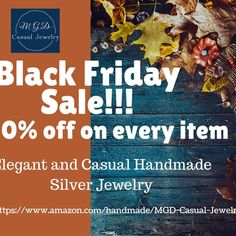 Sale starts TODAY if you haven't sign in for it click the link on bio and get your 30% discount on every item on my handmade at Amazon store!!! . . .  #blackfridaydeals #blackfriday #cybermonday #cybermondaysale #cybermondaydeals #shopsmall #shopsmallbusiness #silverjewelry #silverring #MGDCasualjewelry #bracelet  #braceletstack  #trendy  #armcandy  #instabracelet  #armswag  #braceletsoftheday  #fashionlovers  #braceletstacks  #accessories  #bracelets  #instatag  #instagramanet  #wristwear…