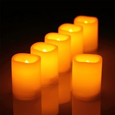 Flameless Votive Candles 12Batterypowered Red Flameless Led Frosted Flickering Tealight