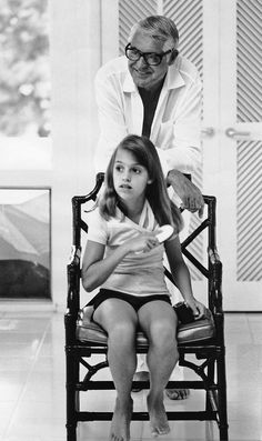 Cary Grant, with his daughter Jennifer.