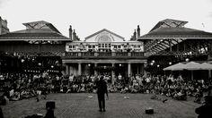 busker in Covent Garden - London