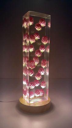 Diy Resin Lamp, Epoxy Resin Art, Diy Resin Crafts, Wood Resin, Easy Diy Crafts, Diy Arts And Crafts, Wood Crafts, Creation Art, Resin Table