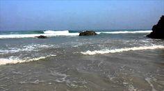 Playa de las Catedrales   Ribadeo Lugo con time lapse
