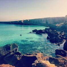 Isola di Favignana nel Favignana, Sicilia