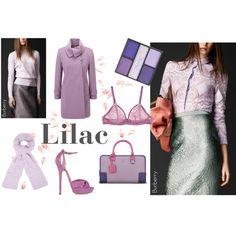 Love lilac? by thestylepa, via Polyvore