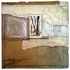 Crystal Neubauer #Collage #Mixed Media #Fine Art #Salvaged Material #Altered #Art