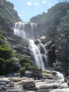 Tsitsikamma National Park, Garden Route, South Africa is one of the most beautiful places you'll ever go. Look into their beachfront camping. Oh The Places You'll Go, Places To Travel, Places To Visit, Travel Destinations, Tsitsikamma National Park, South Afrika, Le Cap, Les Continents, Beautiful Waterfalls